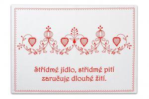 Náhled Svitap Staročeská utěrka 100% bavlna Střídmé jídlo... 50x70cm