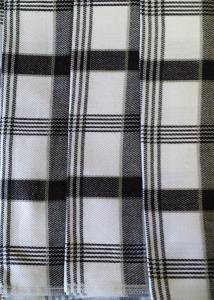 Svitap utěrky z egyptské bavlny 50x70cm 3ks MODERNÍ KÁRO ČERNÁ