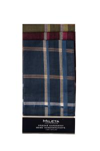 Náhled Mileta kapesníky tmavé 40x40cm, 6ks mix