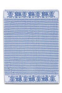 Náhled Froté utěrka / ručník FOLKLOR 50x70 cm - Modrá