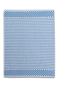 Náhled Froté utěrka / ručník KOSTKA 50x70 cm - Modrá