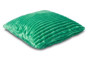 Náhled Povlak na polštářek Sleep Well® manžestr 40x40cm - SMARAGDOVÁ