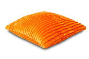 Náhled Povlak na polštářek Sleep Well® manžestr 40x40cm - ORANŽOVÁ