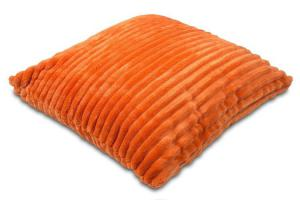 Náhled Povlak na polštářek Sleep Well® manžestr 40x40cm - REZAVÁ