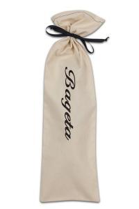 Náhled Bavlněný pytlík na BAGETU s krásnou výšivkou 53x17cm