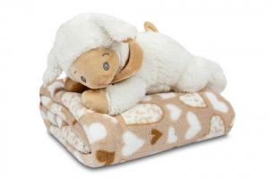 Náhled Dárkový set pro nejmenší SLEEP WELL® - OVEČKA (deka+hračka)