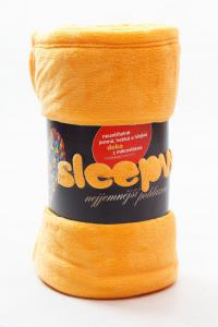 Deka mikroflanel SLEEP WELL® - 150x200cm - AKSAMITOVÁ