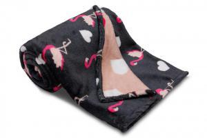 Náhled Dětská deka z mikroflanelu SLEEP WELL 75x100cm PLAMEŇÁK