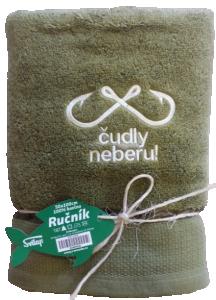 """Náhled Osuška """"Čudly neberu"""" pro rybáře z mikrobavlny SLEEP WELL® - 70x140 cm"""