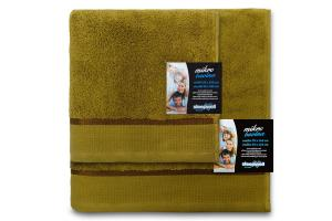 Osuška mikrobavlna SLEEP WELL® - 70x140cm - KHAKI