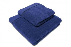Náhled Osuška mikrobavlna SLEEP WELL® - 70x140cm - NÁMOŘNICKÁ MODRÁ
