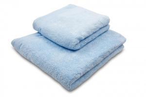 Náhled Osuška mikrobavlna SLEEP WELL® - 70x140cm - SVĚTLE MODRÁ