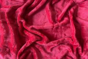 Náhled Prostěradlo mikroflanel SLEEP WELL® - 180x200cm - bordó