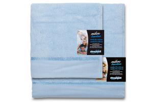 Ručník mikrobavlna SLEEP WELL® - 50x100 cm - SVĚTLE MODRÁ