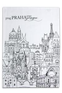 Suvenýr z Prahy - UTĚRKY PRAHA V OBÁLCE 3ks - svislý tisk