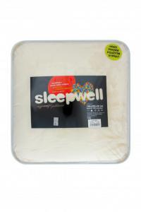 Prostěradlo mikroflanel SLEEP WELL® - 90x200 cm - měsíční třpyt