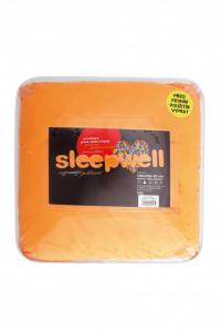 Prostěradlo mikroflanel SLEEP WELL® - 180x200cm - oranžová