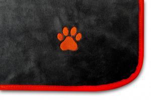 Souprava 3ks - deka do auta + podložka KOST + deka ( s výšivkou) pro mazlíčka