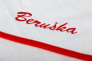 Osuška s kapuckou 100x100cm - BERUŠKA