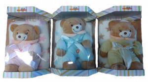 Dárkový set pro nejmenší SLEEP WELL® RŮŽOVÝ SET (deka+medvídek)