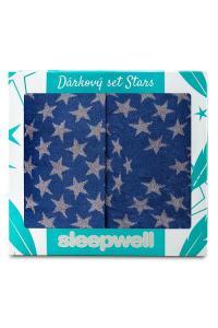 Dárkový set STARS - 2ks ručník + 1ks osuška