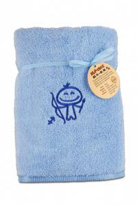 Ručník mikrobavlna SLEEP WELL® - 50x100cm s výšivkou Horoskop