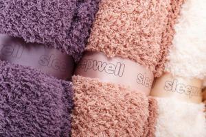 Luxusní deka SLEEP WELL®  z mikrovlákna 150x200cm - LUXURY ANTRACIT